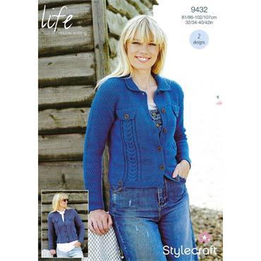 Stylecraft Pattern #9432 Jackets in DK