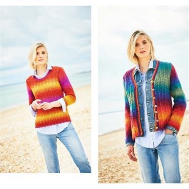 Stylecraft Pattern #9731 Jumper & Cardigan in DK