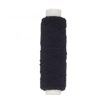 Elastic 20m - Black  Shirring elastic (for lightweight masks)