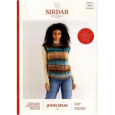 Sirdar Booklet #10291 Tank Top in Jewelspun