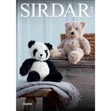 Sirdar Panda & Teddy #2495 Alpine