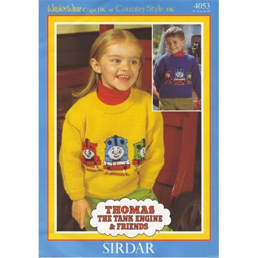 Pattern #4053 Thomas the Tank Engine & Friends Jumper