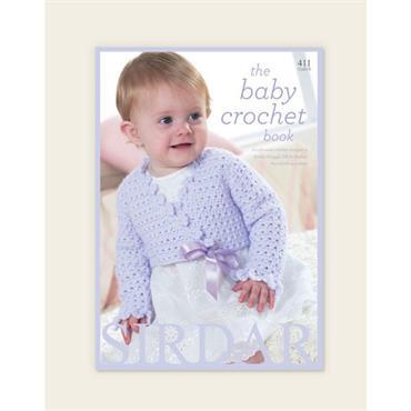 Sirdar Book #411 The Baby Crochet Book (B)