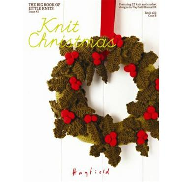 """Knit Christmas"" Book (B) (Hayfield #433)"