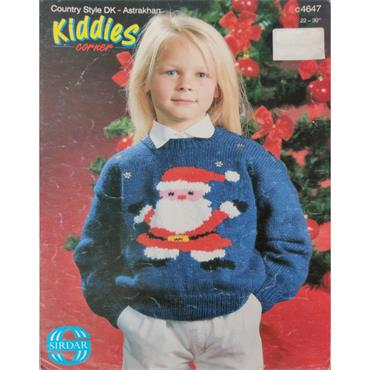 Pattern #4647 Childrens Christmas Jumper