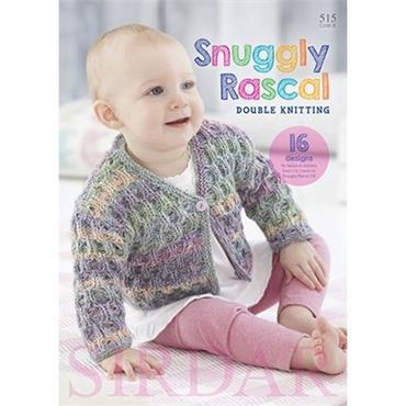 SALE!  Sirdar Snuggly Rascal DK Pattern Book (B) #515