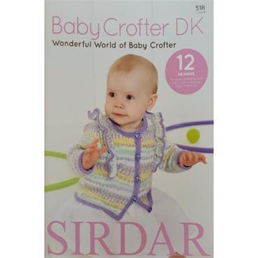 Sirdar Baby Crofter DK Pattern Book (B) #518