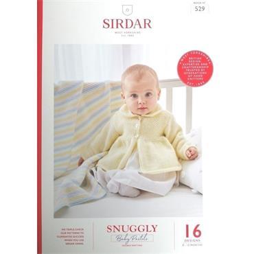 Sirdar Snuggly Baby Pastels DK Pattern Book (C) #529