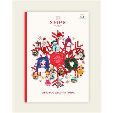 Sirdar Christmas Selection Book to Knit & Crochet (Book #554)