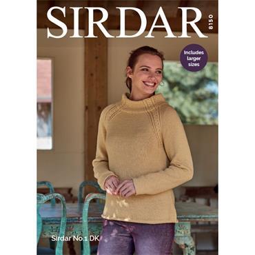Sirdar pattern #8150 Sirdar No.1 DK