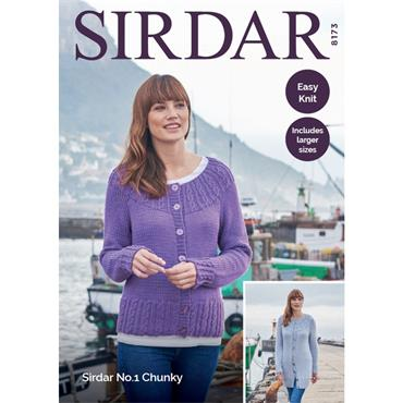 Sirdar #8173 Easy Knit in No. 1 Chunky