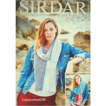 Sirdar Pattern #8223 Accessories in Colourwheel DK