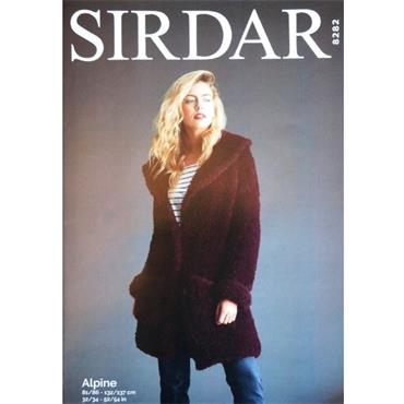 Sirdar Pattern #8282 Teddy Bear Coat in Alpine