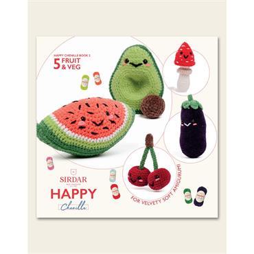Sirdar Happy Book 2 - 5 Fruit & Veg (#547)