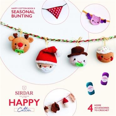 Sirdar Happy Cotton Crochet Book 8: Seasonal Bunting  BK 537