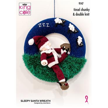 King Cole Sleepy Santa Yarn & Pattern Pack