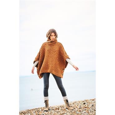 Stylecraft Pattern #9884 Ponchos in Special XL & Special XL Tweed