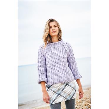 Stylecraft Pattern #9886 Sweater & Cardigan in Special XL & Special XLTweed