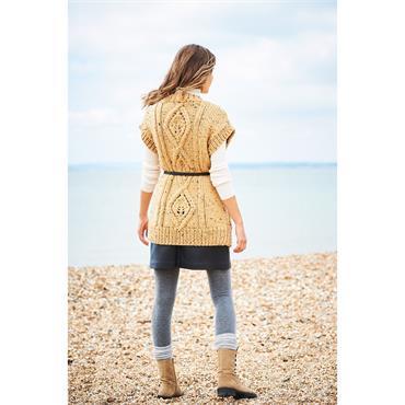 Stylecraft Pattern #9888 Cardigan & Waistcoat in Special XL Tweed & Life Super Chunky