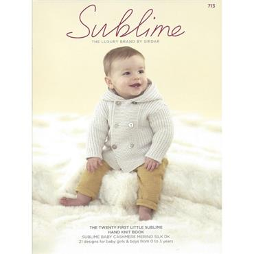 Sublime Book #713 The 21st Little Sublime Hand Knit Book