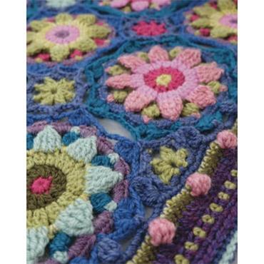 Stylecraft Janie Crow Summer Palace Crochet Blanket Pattern Booklet