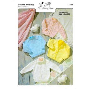 Teddy Pattern #7156 DK Cardigans & Sweaters