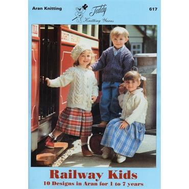 Aran Knitting: Railway Kids Book  Teddy  #617   PG AK16