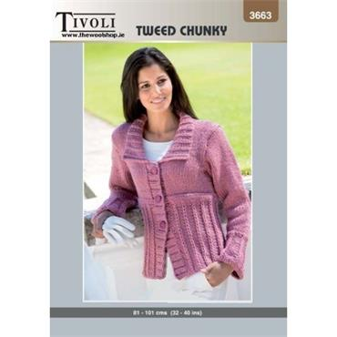 Tivoli Pattern #3663 Ladies Jacket