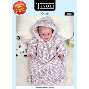 Tivoli Pattern #3738 Baby Sleeping Bag in Cozy