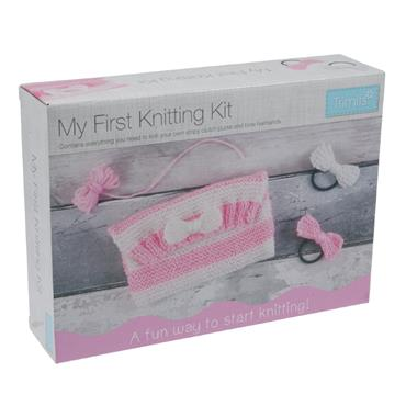My First Knitting Kit  from Trimits                CF127  inv
