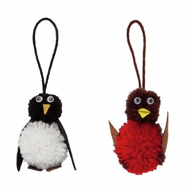 Trimits - Pom Pom Penguin & Robin Kit     ***