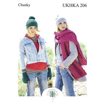 UKHKA Pattern #206 Chunky Accessories