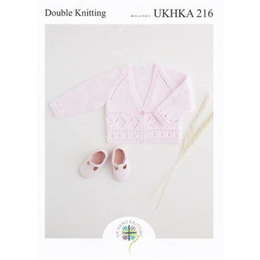 UKHKA Pattern #216 Cardigans in DK