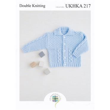 UKHKA Pattern #217 Jackets in DK