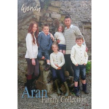 Wendy Book #357 Aran Family Collection