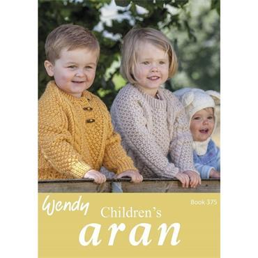 Wendy Book #375 Children's Aran