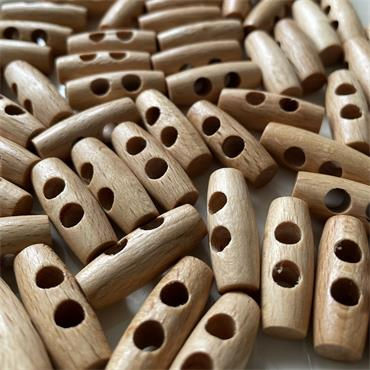 1 x Wooden Toggle - 25mm