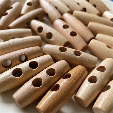 1 x Wooden Toggle - 40mm