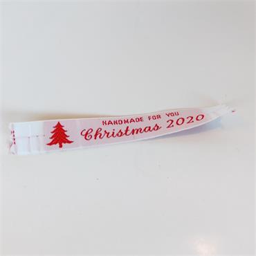 Handmade For You Christmas 2020 labels