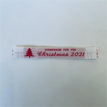 Handmade For You Christmas 2021 Labels