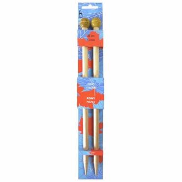 Maple Wooden Knitting Needles 35cm long (12mm to 20mm)