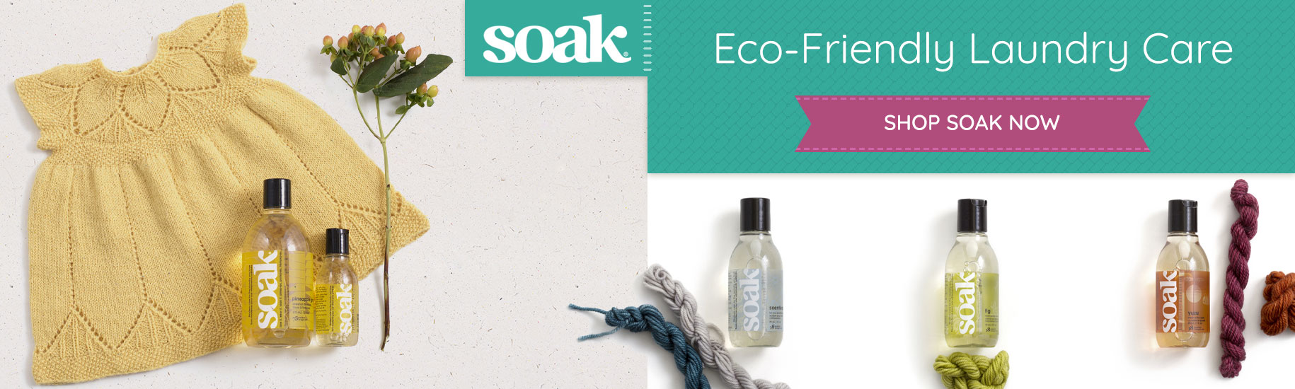 soak - Eco-friendly laundry care