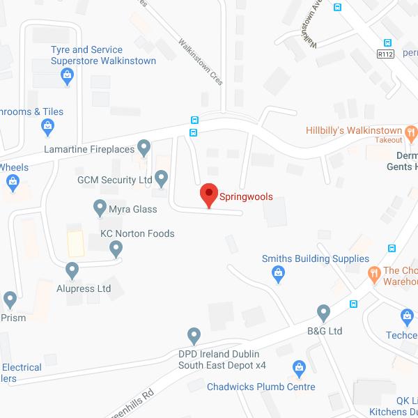 Springwools location map