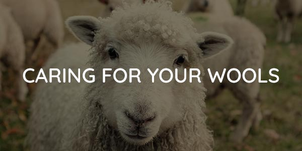 Caring for Your Wools