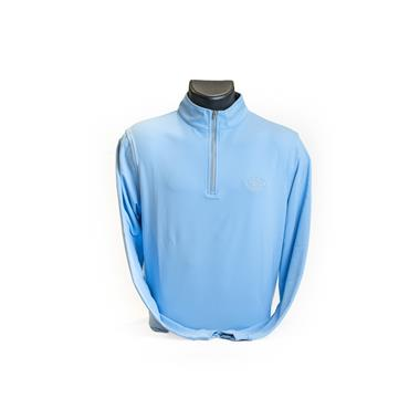 Peter Millar Perth 1/4 Zip Cottage Blue