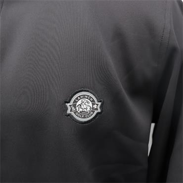 FG Caves Zip Pullover,Black