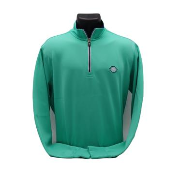 FG Caves Zip Pullover,Mint Green