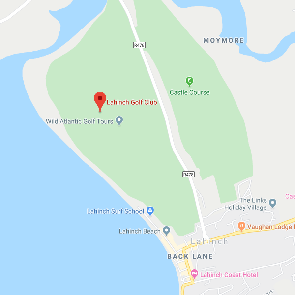 Lahinch Golf Shop location map