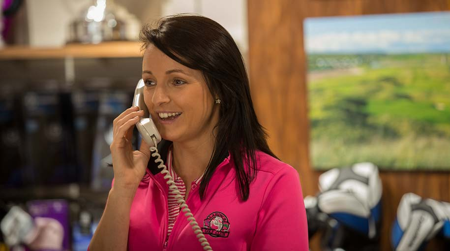 Aisling Shanahan Manager Lahinch Golf Shop