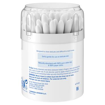 JOHNSONS BABY COTTON BUDS 100S
